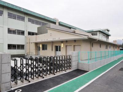 厚木小学校 給食調理場新築工事 (2013年1月)