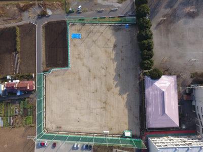 三田小学校 グラウンド整備 第1期工事(2016年12月)