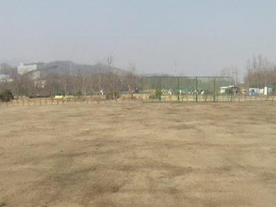 中津川スポーツ広場拡張整備工事