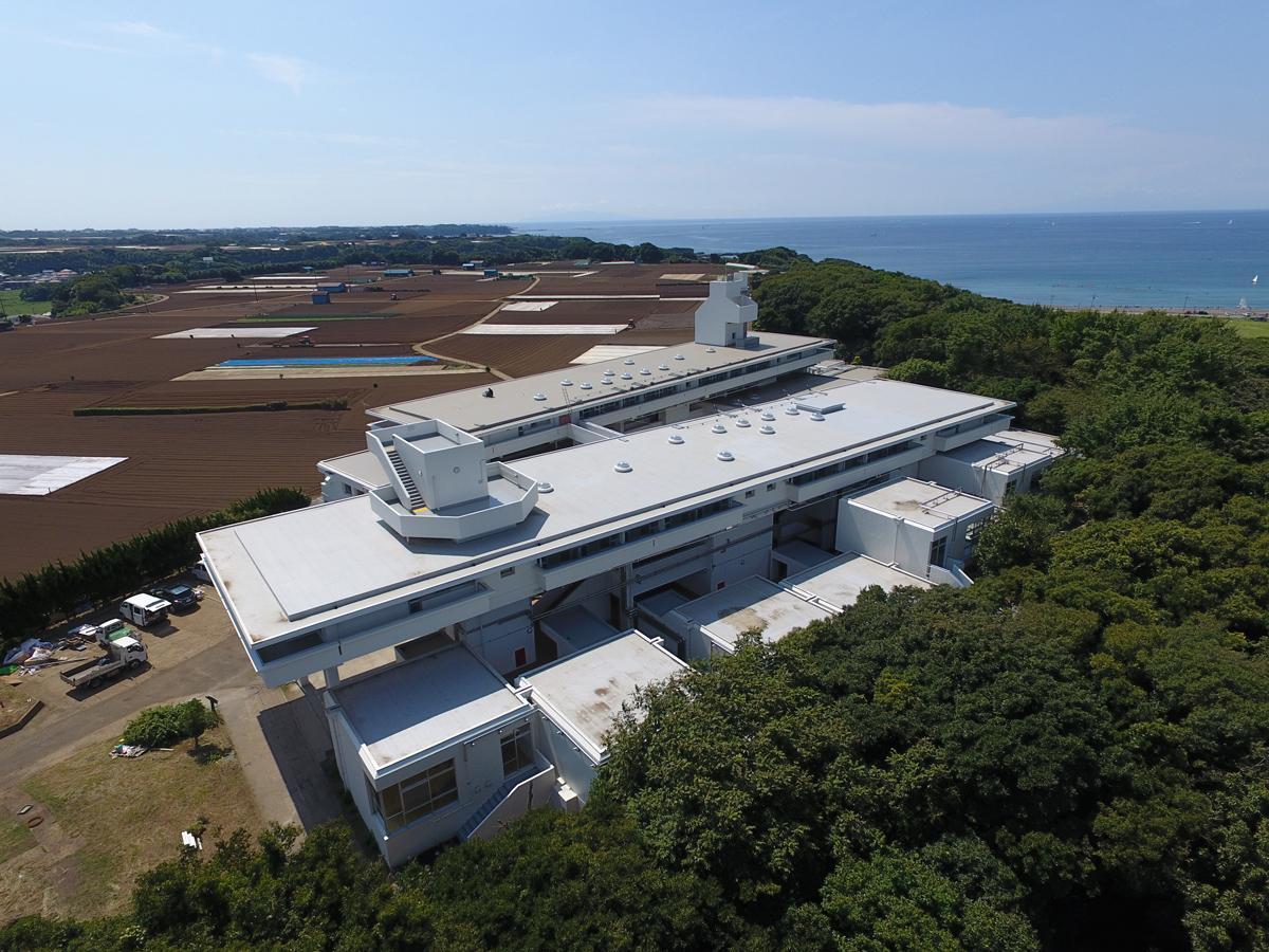 三浦ふれあいの村やまびこ棟改修工事 (2017年9月)